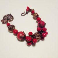 red bracelet