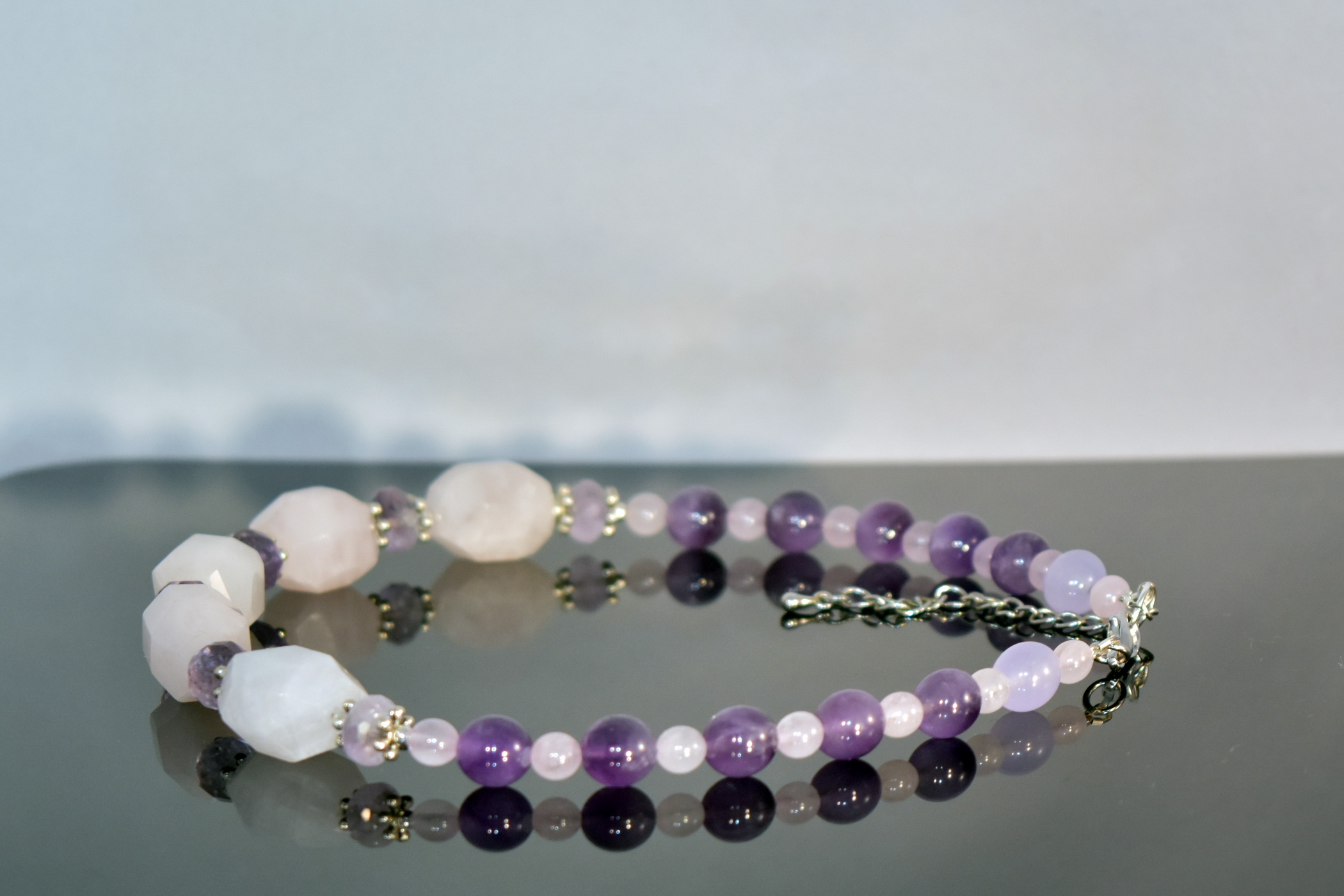 pink-quartz-amethyst-necklace